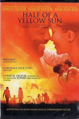 Half of a Yellow Sun (DVD, 2014)  Region 1   Nigerian Civil War  BRAND NEW