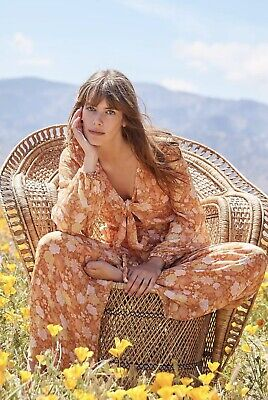 MINISTRY OF STYLE GOLDEN HOUR JUMPSUIT SIZE 10 BNWT RRP$260