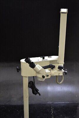 Seiler Ssi-102 Dental Microscope Unit Halogen Magnification 120v Machine