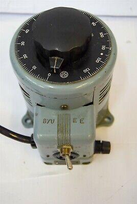 Superior Powerstat 116 Variable Autotransformer Input 120v 10a Output 0-140