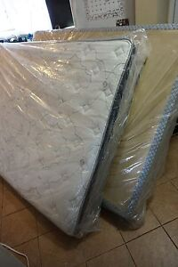 Queen mattress and box spring brand new firm