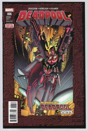 Deadpool 2099 #6 19 25 (03/2016) Marvel Comics 1st Print Select an Issue