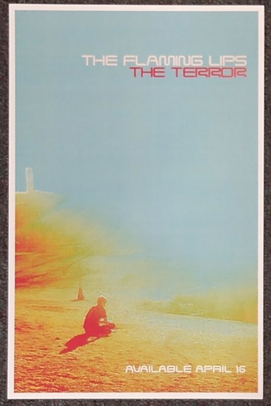 The Flaming Lips The Terror 2013 PROMO POSTER