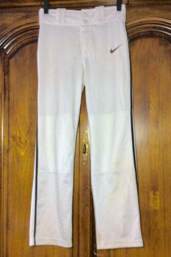 NIKE DRI-FIT WHITE BASEBALL PANTS, YOUTH M