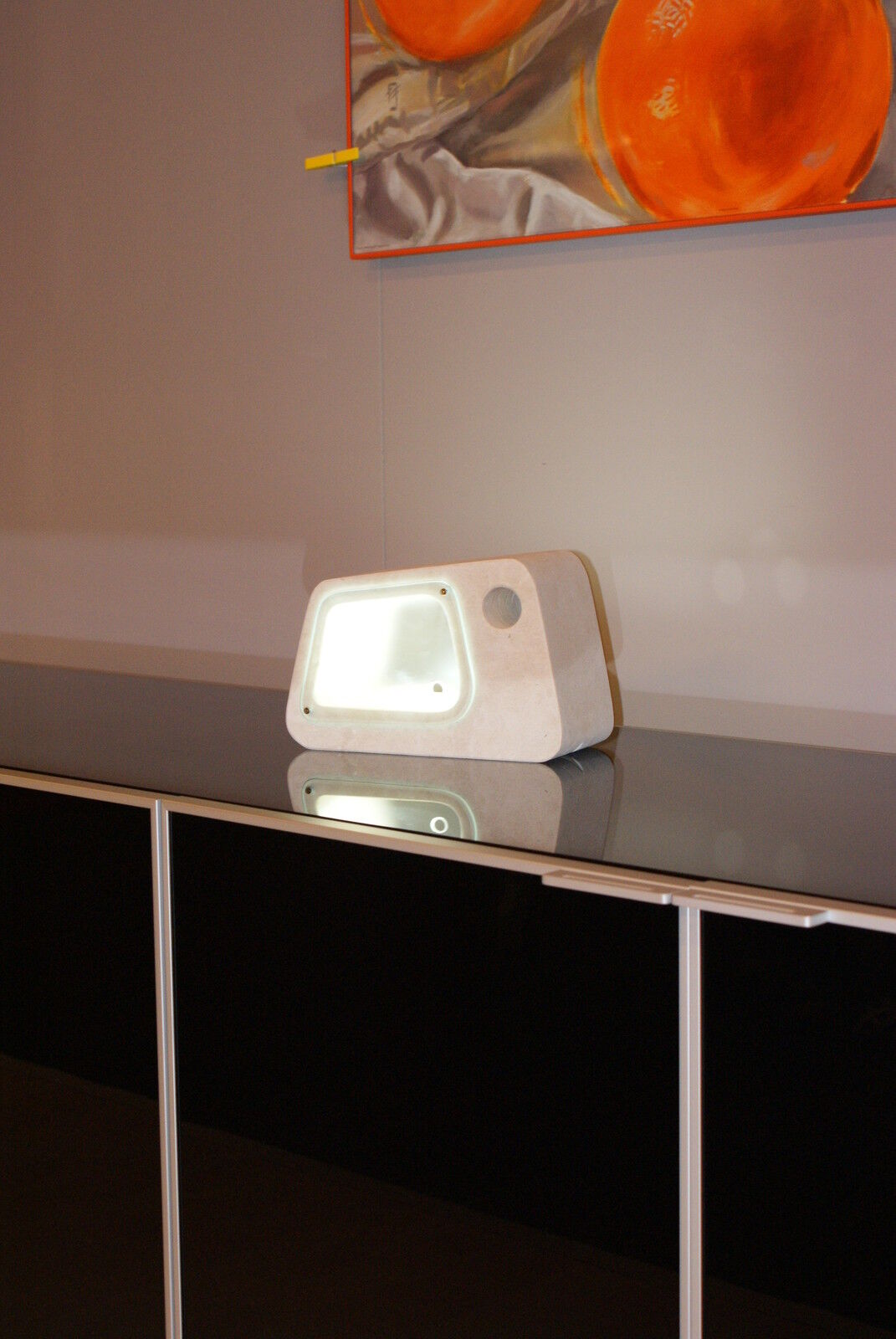 Lampada da tavolo artigianale in pietra leccese tufo - Lampada da tavolo artigianale ...