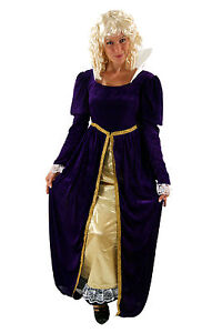 Costume-QUEEN-Snow-white-Princess-CINDERELLA-Medieval-Size-44-L