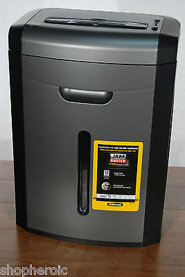 Fellowes 12 Sheet Cross Cut Home/Office Paper Shredder Jam Buster DM1200CT on Rummage