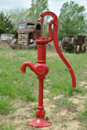 Vintage Dempster Windmill Co Beatrice NE Cast Iron Antique Hand Water Well Pump