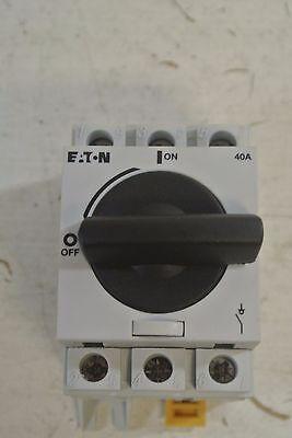 Eaton Non-fusible Rotary Disconnect R5a3040u 40a 600vac 3ph New Surplus