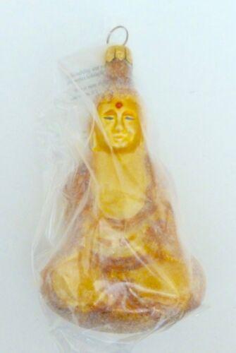 Christopher Radko 1997 OM FOR THE HOLIDAYS Buddha Christmas Ornament...Czech Rep