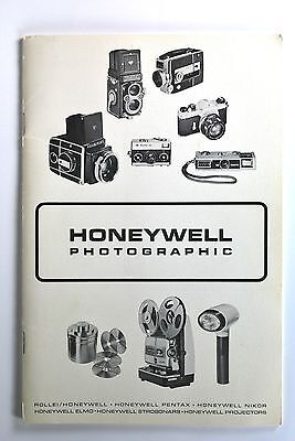 Instructions and guides HONEYWELL PHOTOGRAPHIC CATALOG/PRICELIST/