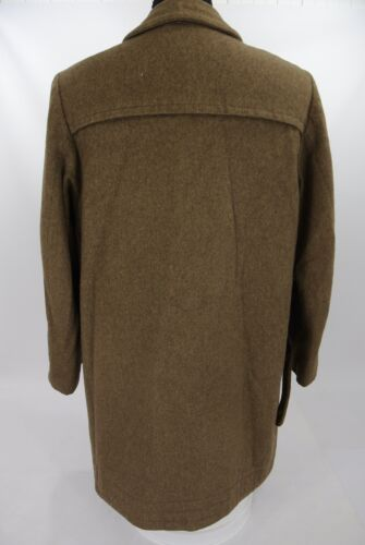 Vtg Lodenfrey Toggle Duffle Coat German Bavarian 100% Wool Tan ...