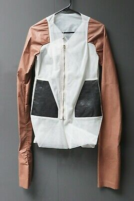 Rick Owens - Leather NYMPH caban lambskin  NEW RARE  [OP: 2700 $US]