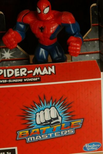 Hasbro Marvel Battle Masters Spider Man Action Figure Moving With Controller
