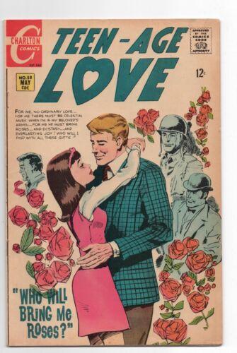 CHARLTON COMICS  TEEN AGE LOVE  58  1968  MOD ROMANCE