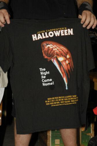 John Carpenter Halloween movie promo t shirt Horror movie 2xl official merch