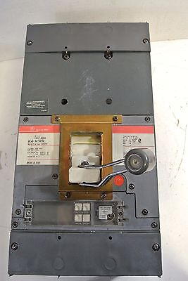 GE General Electric Spectra RMS 800 A 600 V Circuit Breaker Cat: SKLL36BA0800