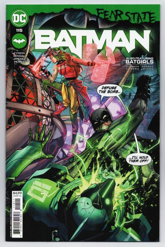 Batman #115 Fear State Main Cvr A Jorge Jimenez (DC, 2021) NM