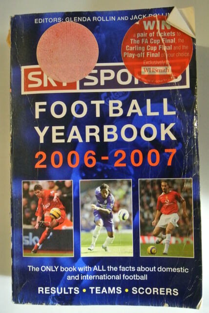 Book. Sky Sports Football Yearbook 2006-2007. 37th Year. Paperback.