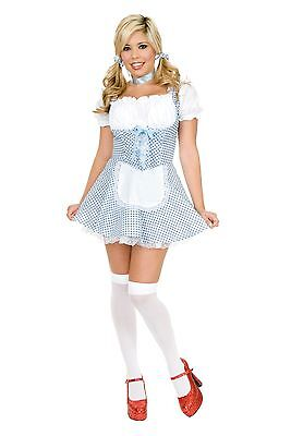 New Sexy Dorothy Adult Costume Charades 01745 w/Petticoat Costumania - Dorothy Costume Adult