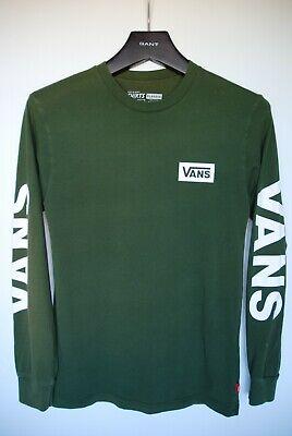 Vans Small Mens Green long sleeve top Kapriche