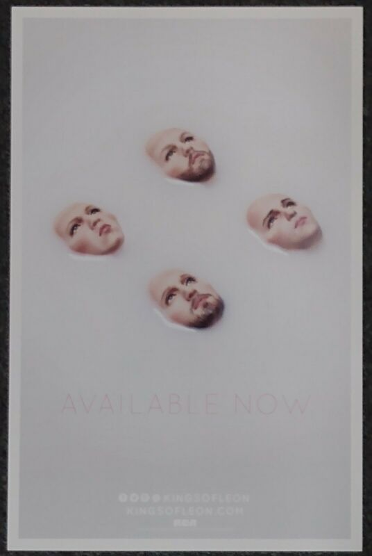 Kings of Leon Walls 2016 Double-sided PROMO POSTER