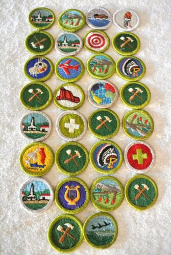 Lot of 30 New Boy Scout Merit Badges