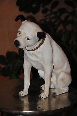 Emi  Grammophon Hund Nipper Der Terrier - Mischling  Figur Sammler Werbefigur HG ()