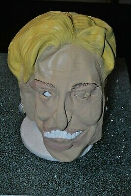 Fright Factory Rubber Hillary Clinton Mask, One Size