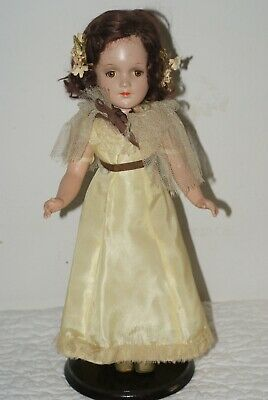 "GORGEOUS! Vintage 14"" DEBU'TEEN All Original Composition Doll"