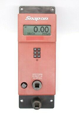 Snap-on Qcdtc3250 Electronic Torque Digital Checker12 And 38 25-250 Ft-lb