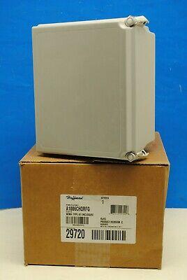 Hoffman A1086chqrf 10 X 8 X 6 Fiberglass Enclosure J-box Nema 44x1213