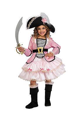 Pink Pirate Princess Costume (Girls Pirate Princess Costume Kids Pink Caribbean Pirate Size Large)