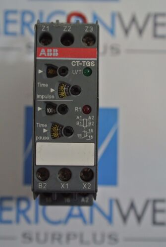 ABB 1SVR430163R0100 Pulse Time Relay CT-TGS .05S-300H  USED
