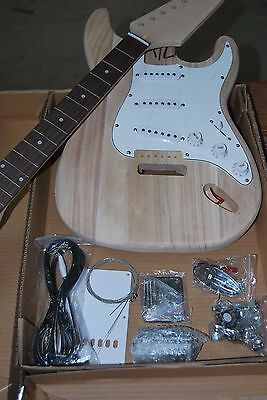 DIY-NEW 2017 professional MODEL STRAT 6 STRING ELECTRIC GUITAR-DO IT YOURSELF