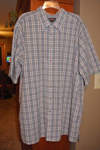 Men's size XLT Canyon Ridge Short Sleeve Summer Casual Shirt