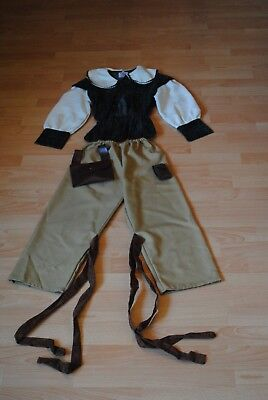 Robin Hood Kostüm komplett Größe 128 Karneval Halloween ()