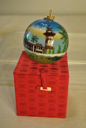 Hilton Head Lighthouse Christmas Ornament 1999 FIGI