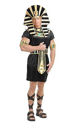 King Tut Costume for Men size Large Pharaoh Egyptian New by Charades 02270