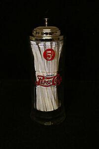 Pepsi-Cola Soda Fountain Straw Holder Dispenser