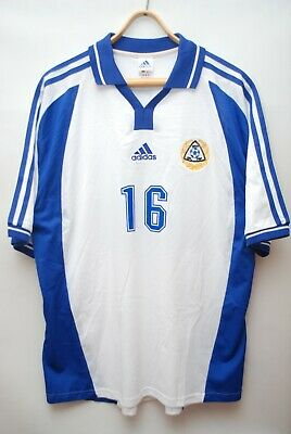 #16 FINLAND MATCH ISSUE 2000 2002 HOME FOOTBALL SHIRT SOCCER JERSEY SIZE XL image