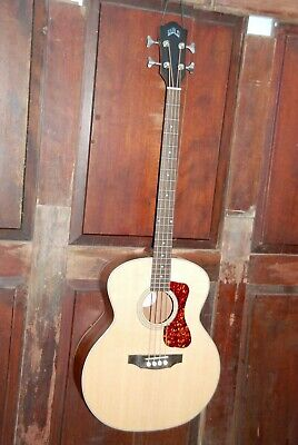Guild B-240E Steel String Acoustic-Electric Solid Top Mahogany Jumbo Bass w/Bag