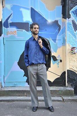 DDR Uniformhose Herrenhose Hose grau 70er TRUE VINTAGE 70s men's pants grey