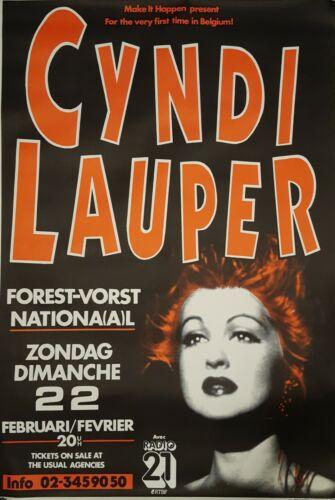 Cyndi Lauper Concert Poster