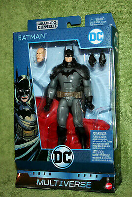 "DC Multiverse Gotham City Gaslight BATMAN 6"" Figure C&C BAF Lex Luthor Series 9"