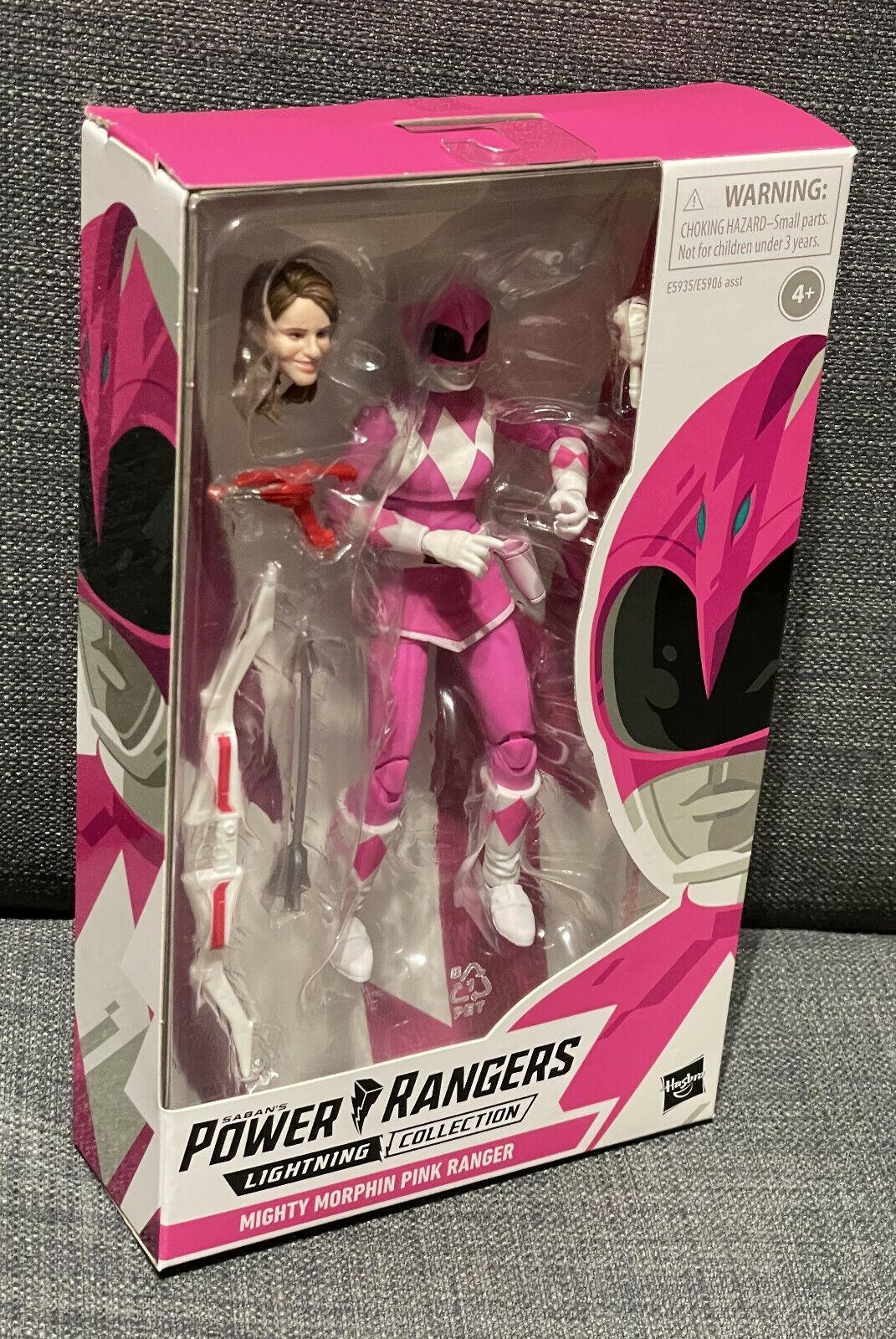 Power Rangers Mighty Morphin Pink Ranger | Lightning Collection, Kimberly | NEU