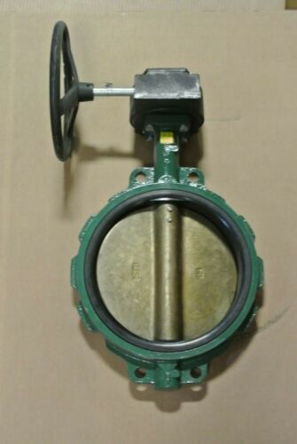 "12"" Crane Center Line 200 Wafer Butterfly Valve CI/Al Br/EPDM NEW MB (2606)"