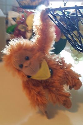 Aflac 6  Plush Talking Duck Impostor Orangutan Rare Original Gottfried Voice New