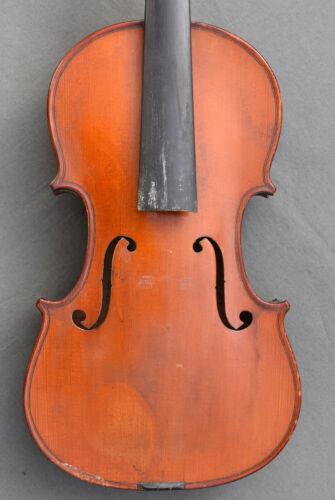 Antique FRENCH Violin circa 1920 violon 4/4 labelled NICOLAS BERTHOLINI