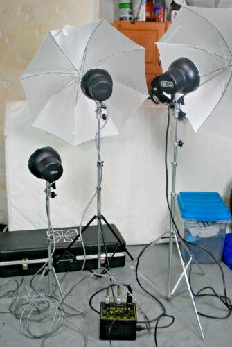 Novatron 240 Studio lighting set